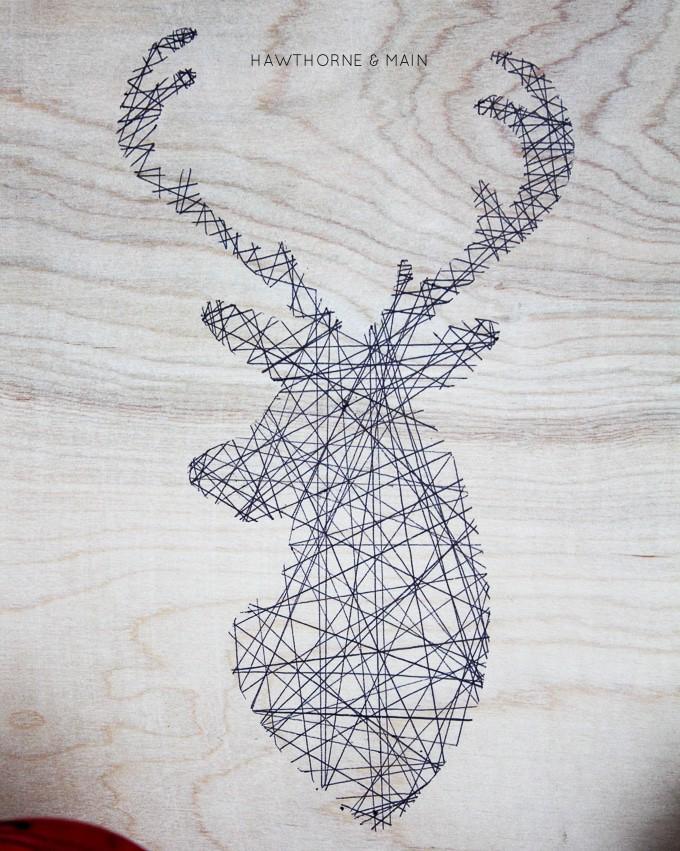 Deer-Be-Merry-Sign port05