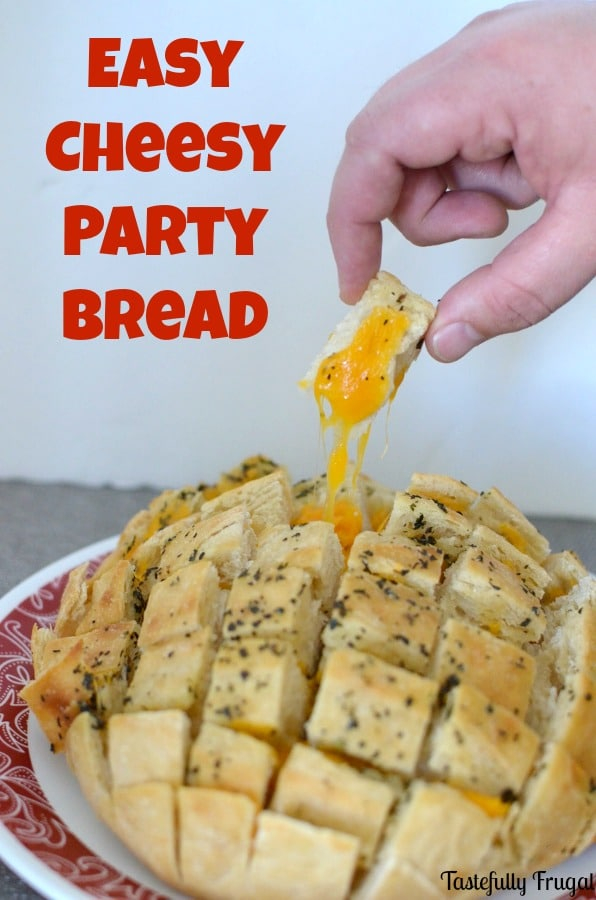 Easy Cheesy Party Bread: A Gourmet Appetizer Made in Less Than 30 Minutes | Pretty Providence