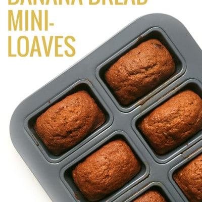 Chocolate Chip Banana Bread Mini-Loaves