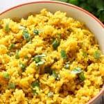 Yellow Rice | mandysrecipeboxblog.com
