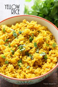 Yellow Rice | mandysrecipeboxblog.com