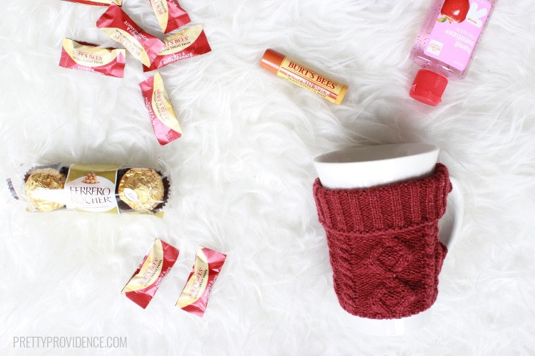This cold survival kit is a FUN gift for someone who has a cold or needs a winter pick-me-up!