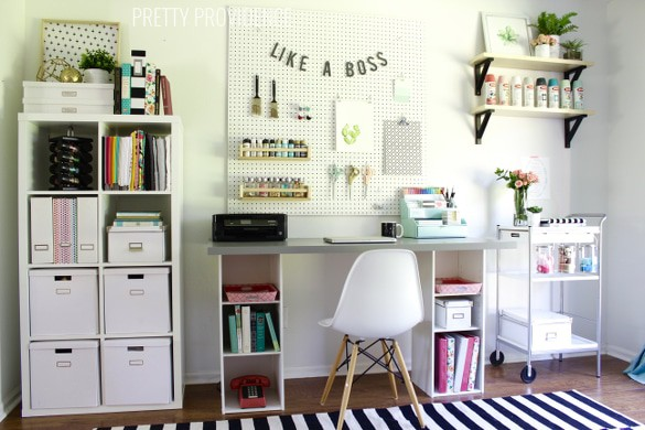 Craft Room Makeover - Pretty Providence