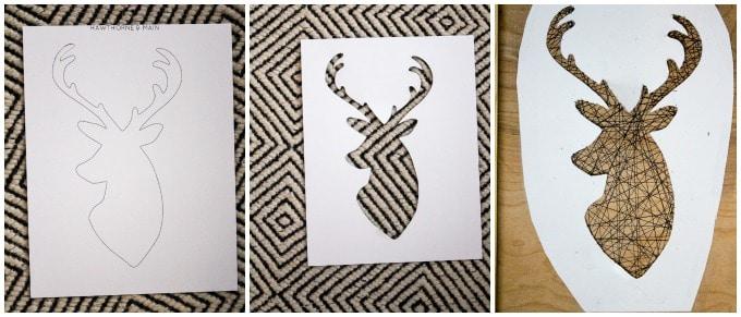 deer collage