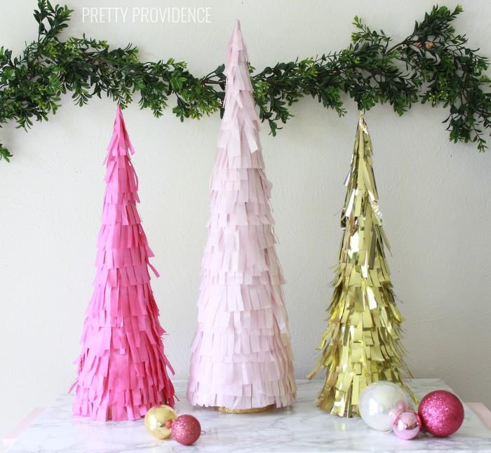 fringe holiday trees