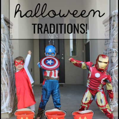 13 Fun and Easy Halloween Traditions!