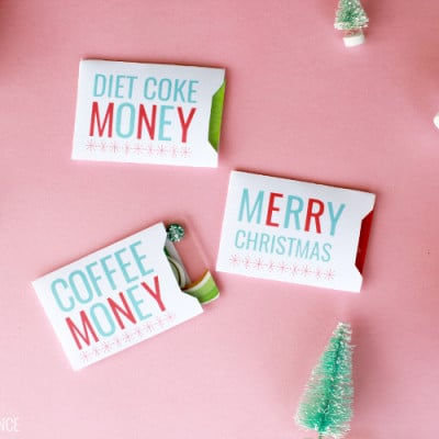 Christmas Gift Card Holders – Free Printable