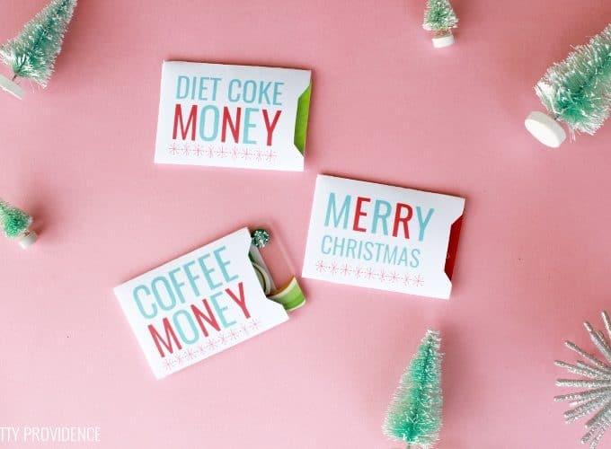 Christmas Gift Card Holders – Free Printable