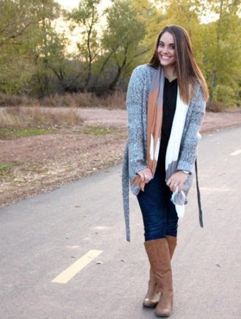 I love this outfit! Cute, comfy and affordable! Right up my alley.