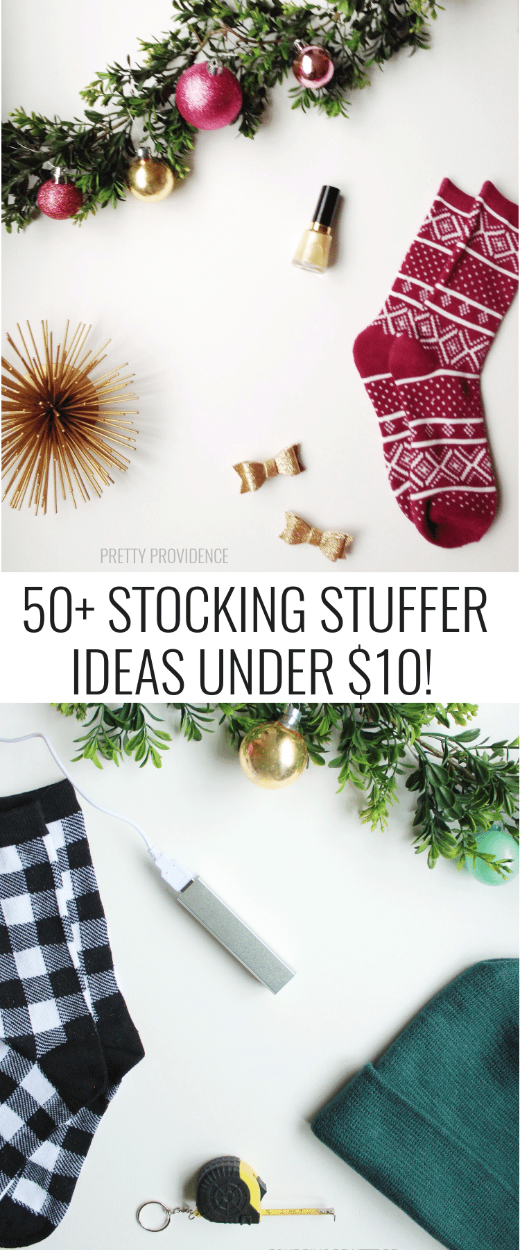 AMAZING list of stocking stuffers!!! prettyprovidence.com