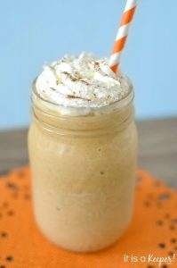 Pumpkin Pie Milkshake | Tastefully Frugal