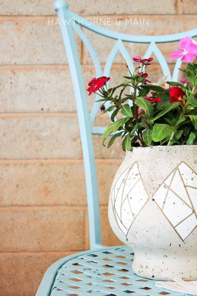 cement+fish+bowl+planter+perfect+for+summer+flowers 8