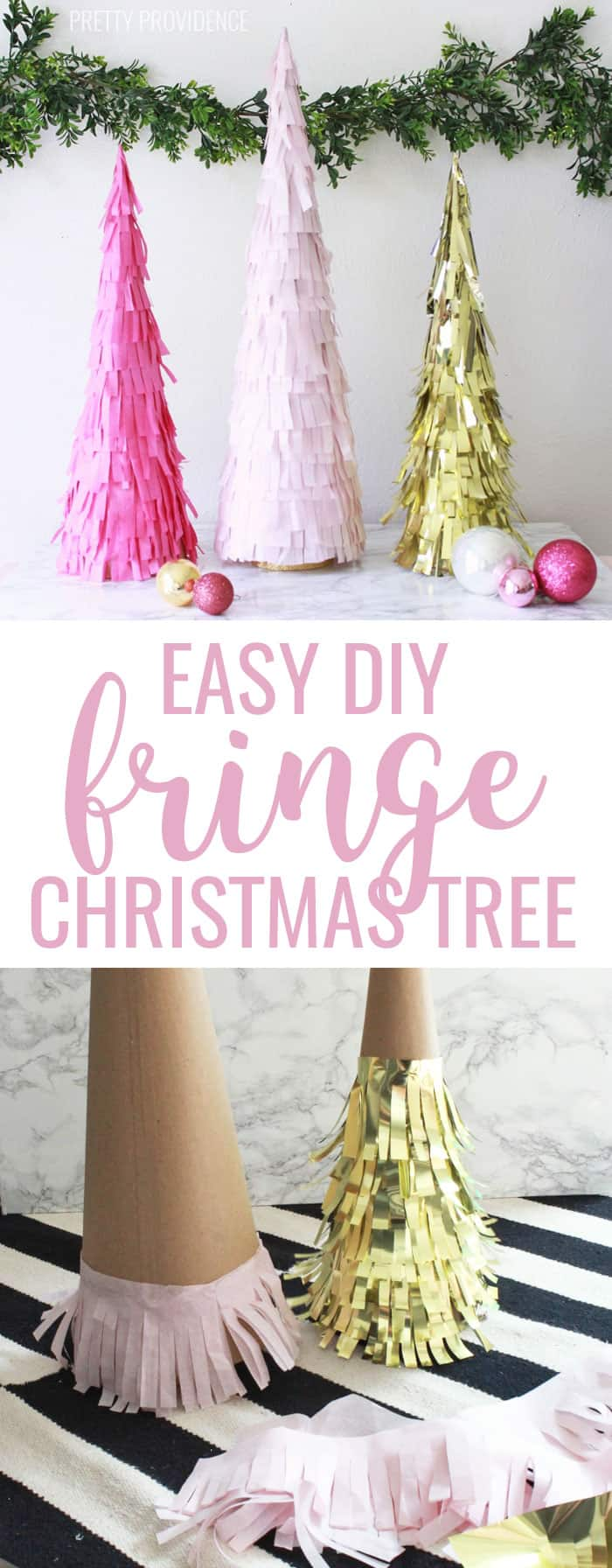 Cheap DIY Christmas Decorations Tissue Paper