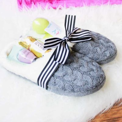 Cozy Slippers Gift Idea