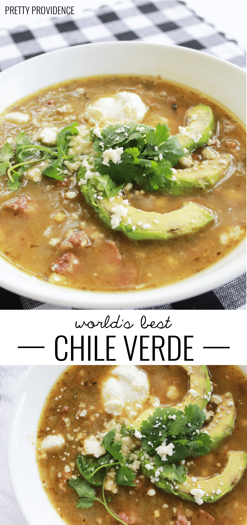 The best Chile Verde you will ever, ever eat!