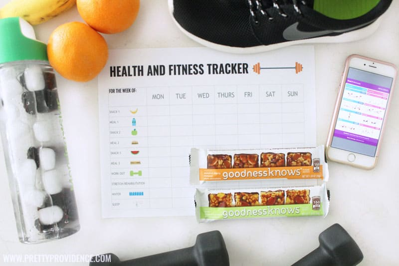 Fitness Tracker Free Printable