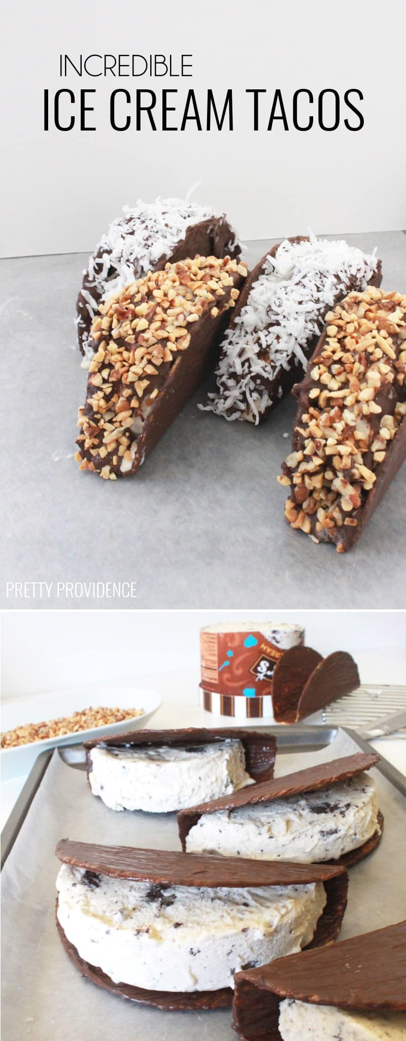 These ice cream tacos are INCREDIBLE and surprisingly easy too!