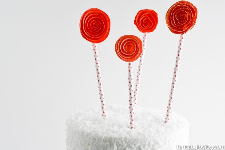DIY Cake Topper Idea
