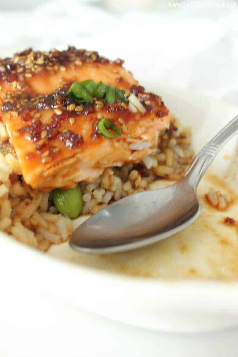 Literally the best salmon I have ever eaten, and when she says easy, she means easy! Definitely gonna become a staple at our house!