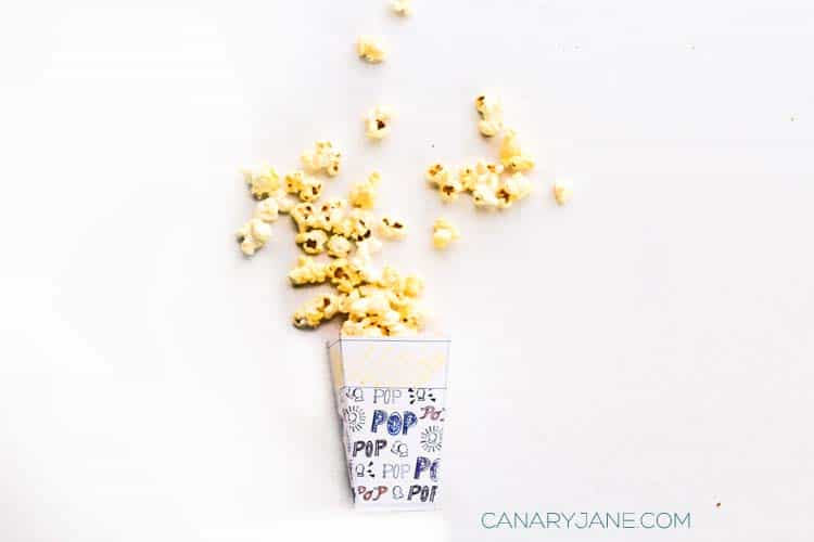 printable coloring popcorn boxes for family fun and movie night