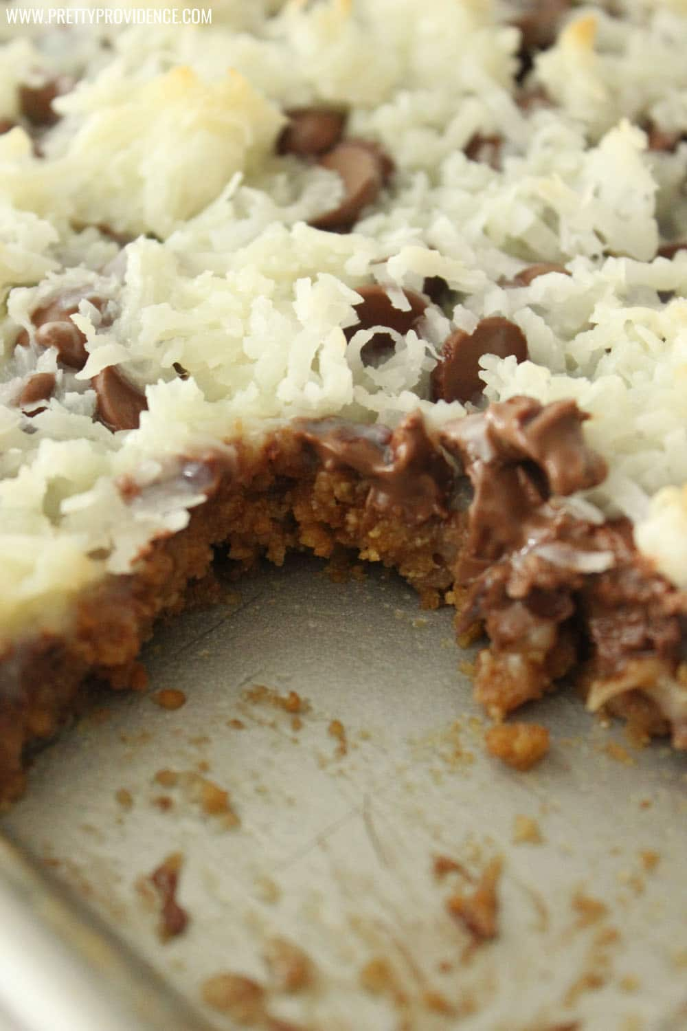 Oh. My. Gosh. These magic cookie bars are unbelievable! So easy to make and literally addicting!