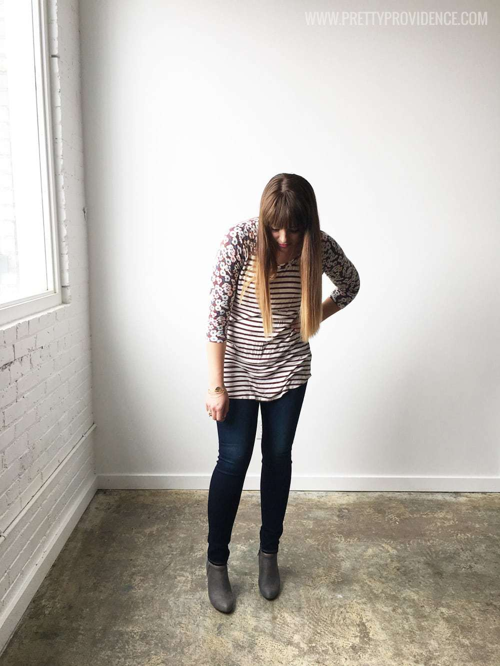 I am obsessed with these jeans! SO comfortable and flattering, and only $40!