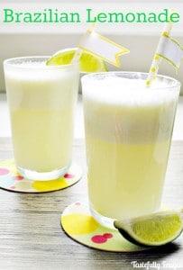 Brazilian Lemonade YUM!!