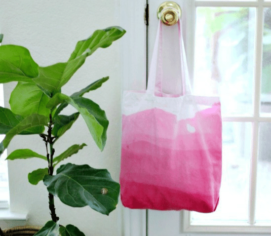 Dip Dyed Ombre Tote Bag from Hi Sugarplum!