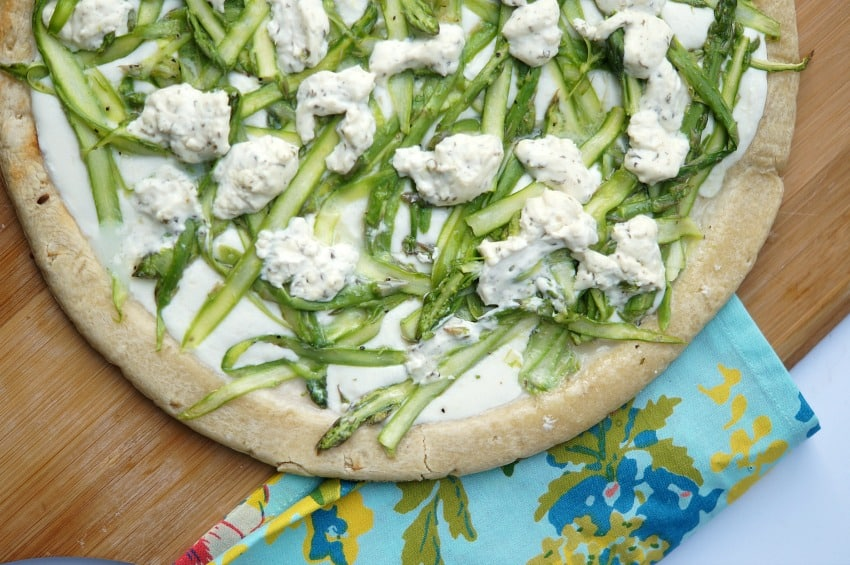 hope you try this Shaved Asparagus Grilled Pizza soon! It is the ...