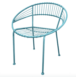 Patio chair from At Home!! love this makeover prettyprovidence.com