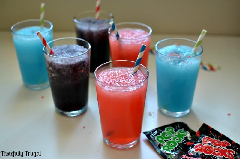 Copy Cat Sonic Slush with Pop Rocks: A cool summer treat with an exciting pop of flavor!