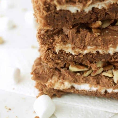 Unbelievably Amazing Rocky Road Brownies