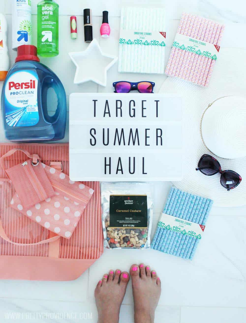 Awesome Target summer haul! Great deals on all my favorite things!