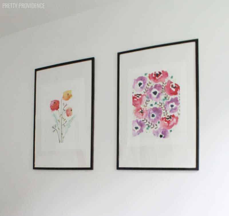 white-master-bedroom-art