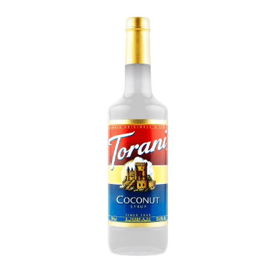 Torani coconut syrup takes so many drinks to the next level! SO YUMMY!