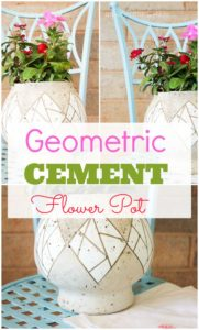 cement+fish+bowl+planter+perfect+for+summer+flowers title