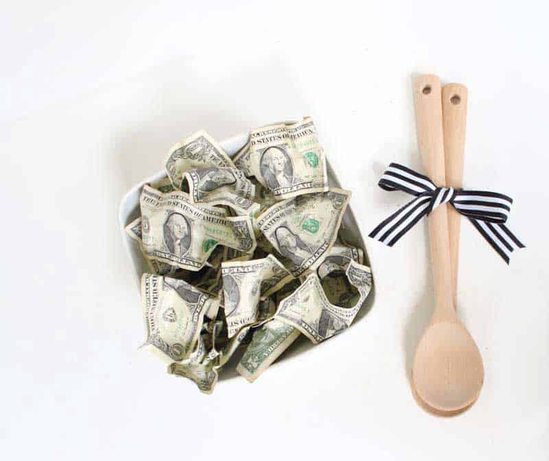 'Green Salad' Money Gift Idea