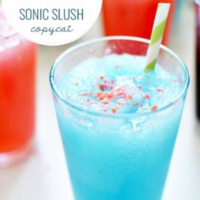 Copy Cat Sonic Slush with Pop Rocks