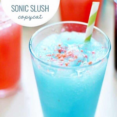 Copy Cat Sonic Slush with Pop Rocks