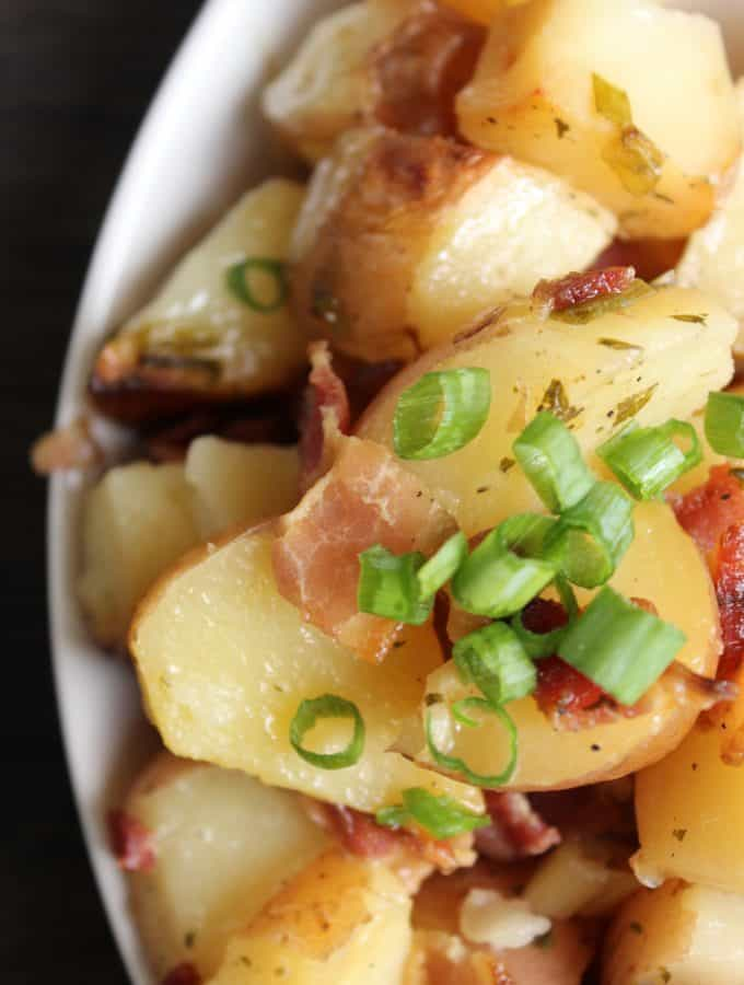 Easy Slow Cooker Ranch Potatoes