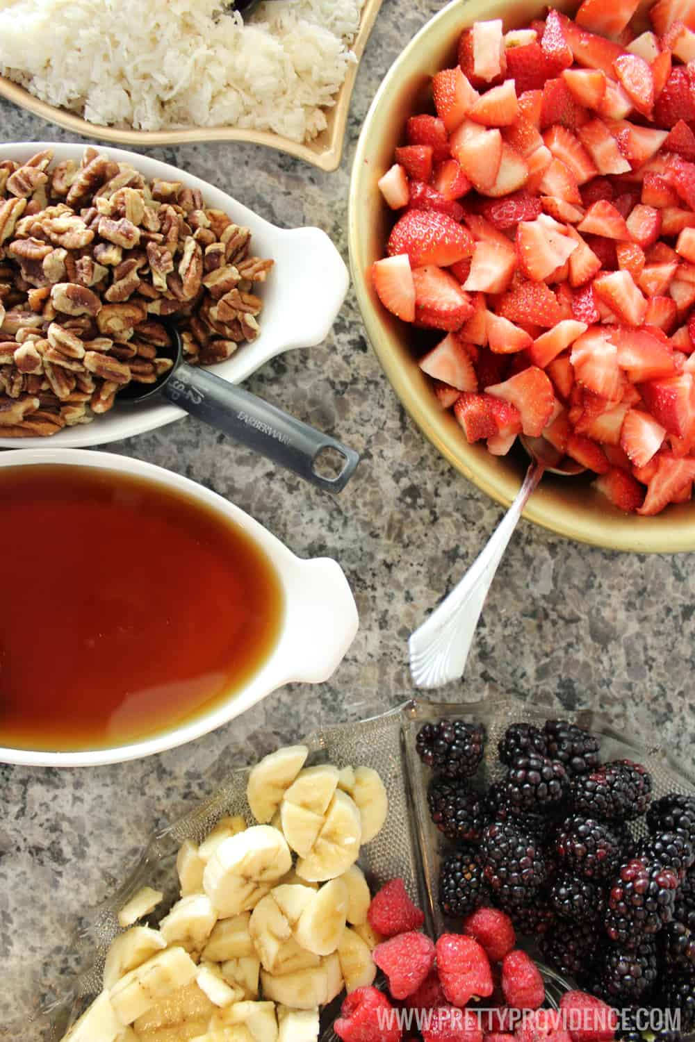 A Yogurt Bar With Lots Of Toppings Is Perfect For A Brunch Baby Shower Or  Breakfast