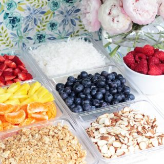 Yogurt Bar + Yogurt Toppings