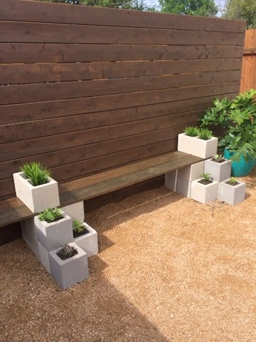 DIY Succulent Bench from Kailo Chic