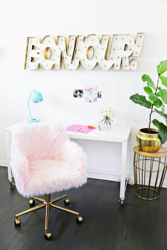 Furry Chair Makeover on ABM!