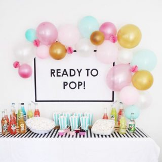 Ready to Pop baby shower ideas!