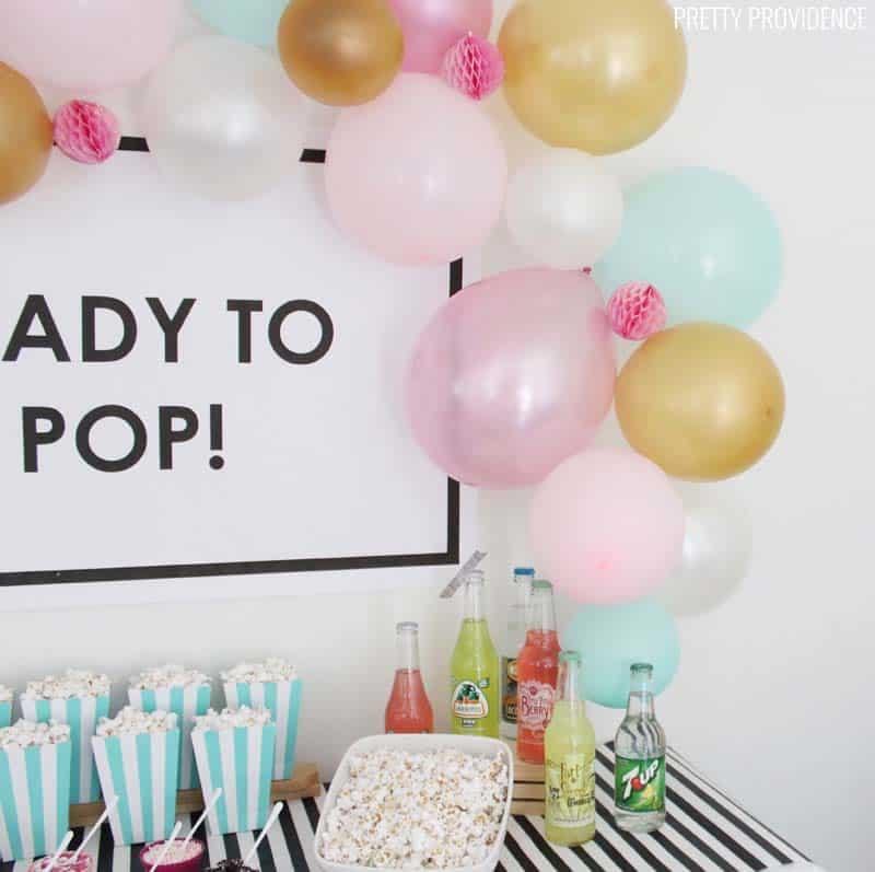 Ready To Pop Baby Shower Ideas Pretty Providence