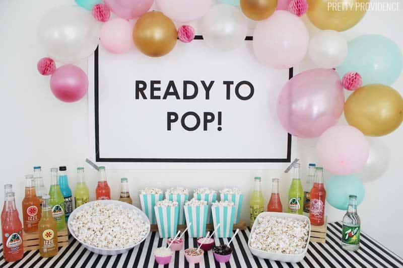 Ready To Pop Baby Shower Ideas Pretty Providence