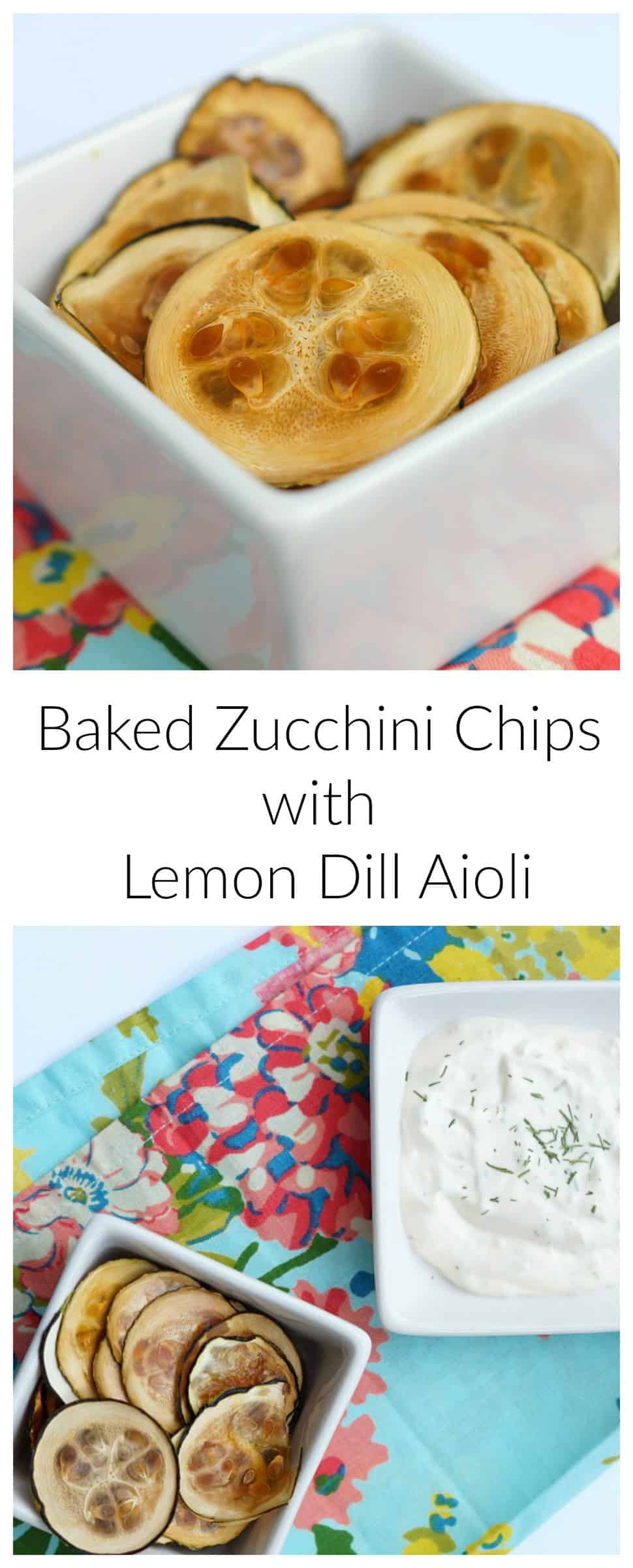 Okay these zucchini chips are so DELICIOUS! Such a great healthy way to curb that craving!