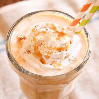 Pumpkin Caramel Milkshakes