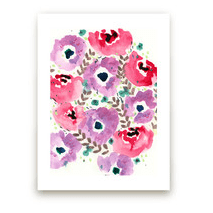 Water color floral!
